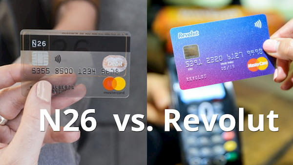 Revolut and N26 in comparison